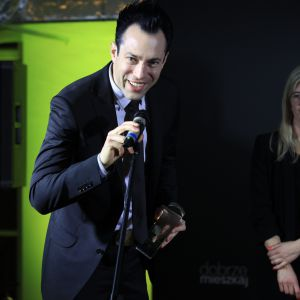 Nagrodę główną w kategorii AGD zdobył okap firmy Franke, Mythos FMY 905HE. Nagrodę odebrał Rafał Darecki, Product Manager Franke.