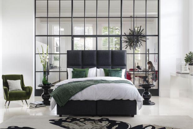Kolory do wnętrz - ciemna zieleń w sypialni