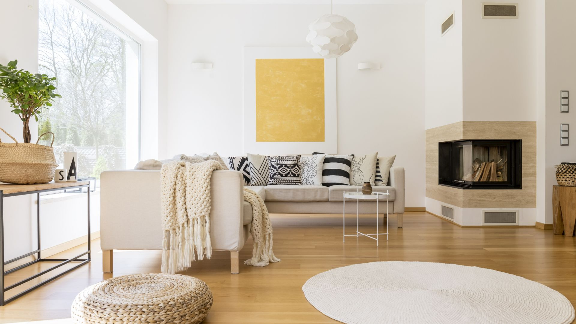 Przytulne wnętrze: podłoga z drewna. Fot. Kaczkan