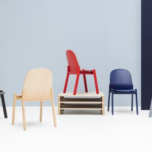 Noti nordic chair design Krystian Kowalski. Fot. Everspace
