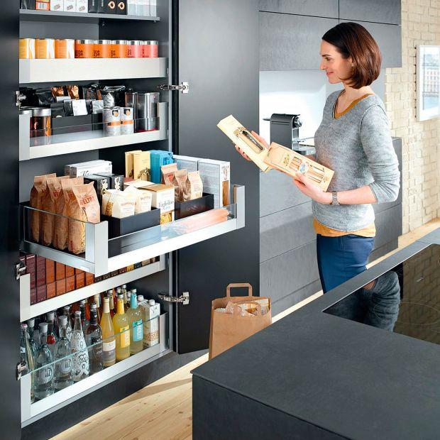 Przechowywanie w kuchni - porady, pomysły, inspiracje