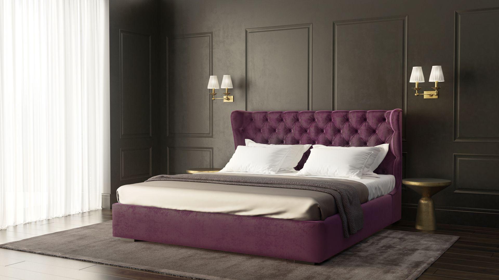 Fiolet i purpura na salonach. Fot. Franc Gardiner