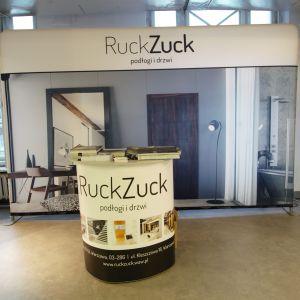 Stoisko marki RuckZuck. Forum Dobrego Designu 2017. Fot. Paweł Pawłowski/PTWP