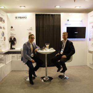 Stoisko marki Fibaro. Forum Dobrego Designu 2017. Fot. Paweł Pawłowski/PTWP