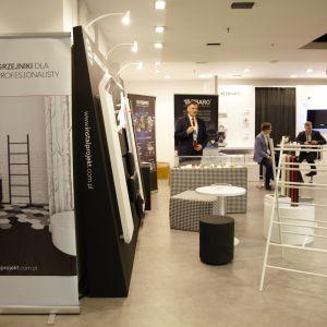 Stoisko marki Instal-Projekt. Forum Dobrego Designu 2017. Fot. Paweł Pawłowski/PTWP
