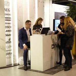 Stoisko marki Divani. Forum Dobrego Designu 2017. Fot. Paweł Pawłowski/PTWP