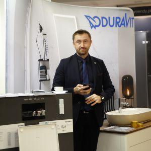 Stoisko marki Duravit. Forum Dobrego Designu 2017. Fot. Paweł Pawłowski/PTWP