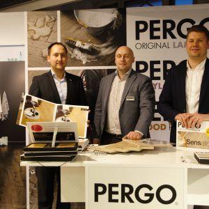Stoisko marki Pergo. Forum Dobrego Designu 2017. Fot. Paweł Pawłowski/PTWP