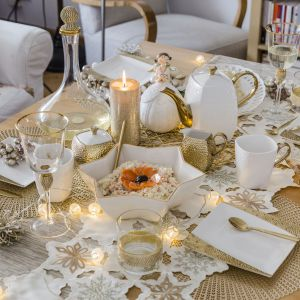 Świąteczny stół. Fot. Home&You