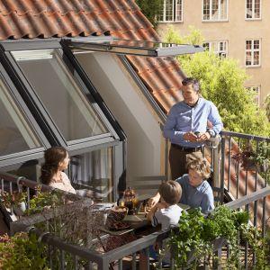 WYRÓŻNIENIE: Okno balkonowe VELUX GEL/Velux