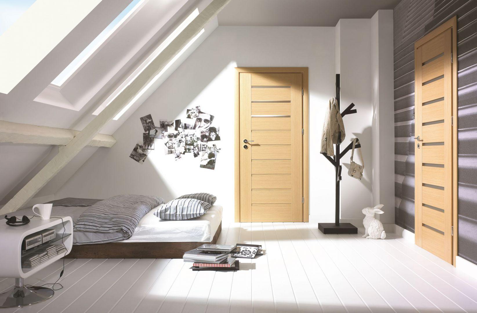 Przeszklenia w drzwiach wydobędą piękno wnętrza. Fot. Porta