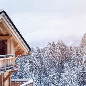 Dach w świątecznej odsłonie. Fot. Blachotrapez