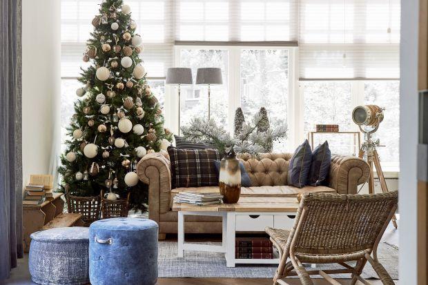 Dom na święta - 10 pomysłów na dekorację salonu