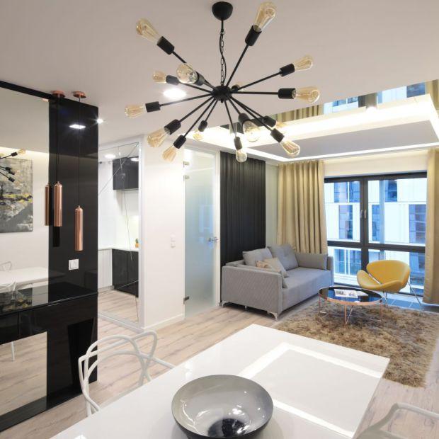 Małe mieszkanie - zobacz piękny projekt kawalerki
