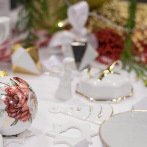 Świąteczne dekoracje. Fot. Ćmielów