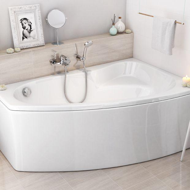 Mała łazienka - tak połączysz wannę i prysznic