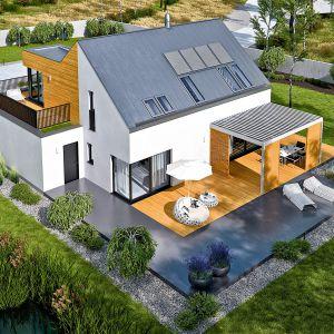 Projekt: Dom Nils II G2 ENERGO PLUS, Pracownia Projektowa Archipelag. Fot. Pracownia Projektowa Archipelag
