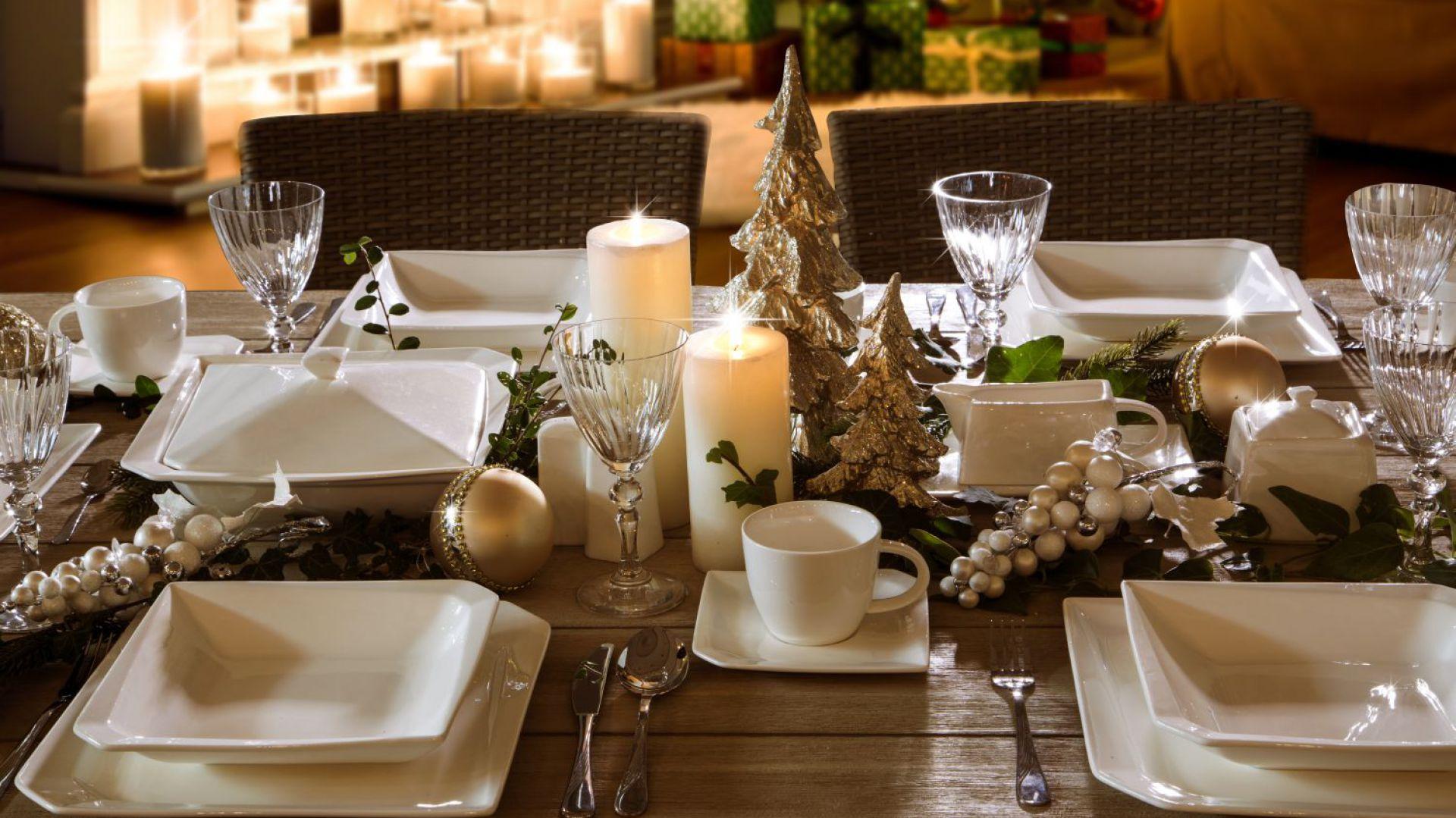 Stół na święta. Fot. Eurofirany