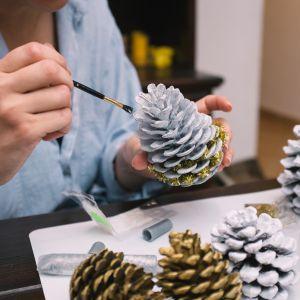 Wyjątkowe ozdoby świąteczne. Fot. Tikkurila