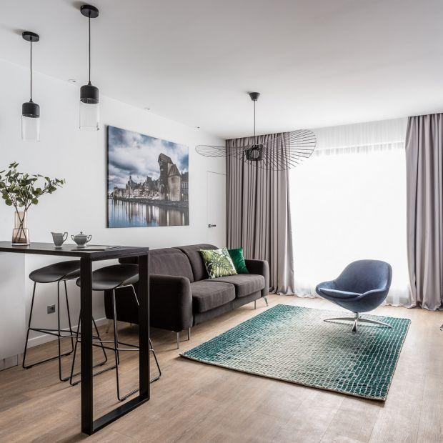 Piękny apartament w Gdańsku - tak można urządzić 50 metrów