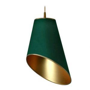 Lampa wisząca Truncate Green, 399 zł. Fot. Westwing