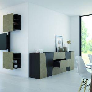 Piękna salonowych szuflad nie zakłóci nowoczesna technika prowadnic i amortyzacji, która działa w ukryciu. Fot. Hettich