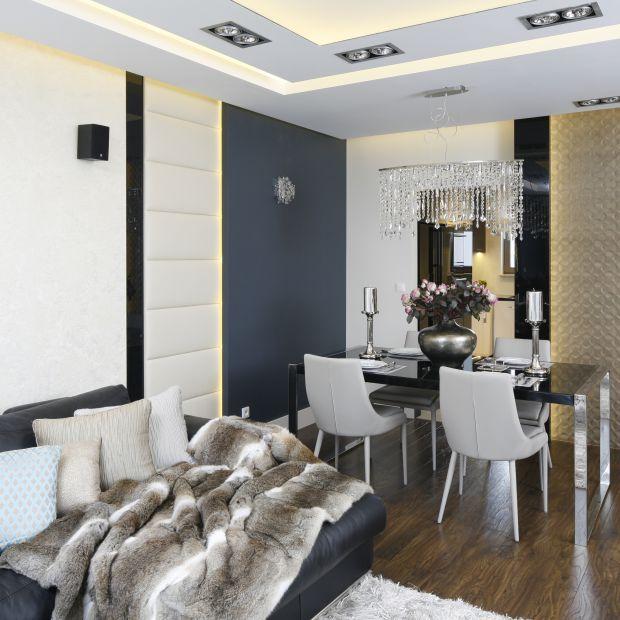 Piękny salon - 20 wnętrz z polskich domów