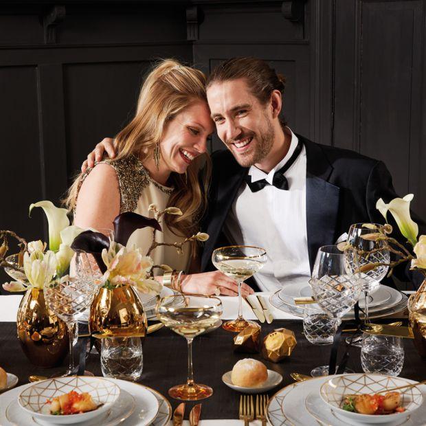 Stół na Sylwestra - 20 pięknych aranżacji
