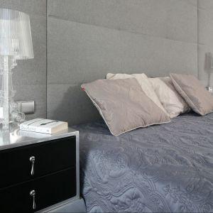 Pomysł na oświetlenie w sypialni. Projekt: Anna Maria Sokołowska. Fot. Bartosz Jarosz