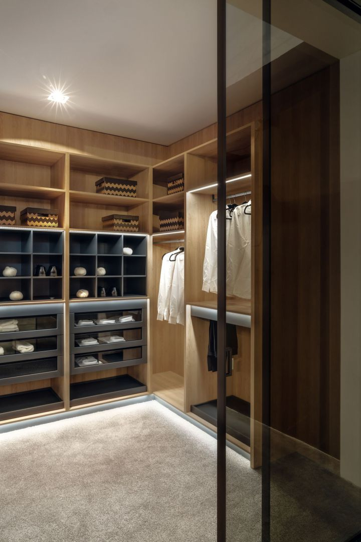 Garderoba walk-in. Fot. Zajc