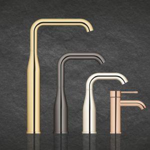 Nowoczesne baterie do kuchni: zobacz wzory z metali kolorowych. Fot. Grohe