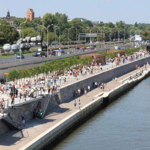 Bulwary wiślane, projekt RS Architektura, fot. S. Skrzeczyński