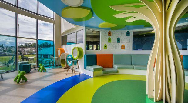 Szpital dziecięcy może wyglądać naprawdę dobrze! Zobaczcie projekt ze Szkocji