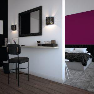 Modne kolory do wnętrz: burgund. Fot. Beckers
