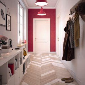 Modne kolory do wnętrz: rubinowy. Fot. Beckers