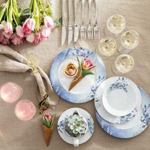 Porcelanowy serwis Nordic Blue, Fot. Fyrklovern