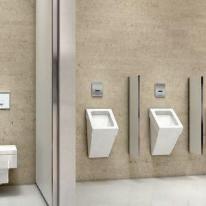 Minimalizm wyposażenia to już obowiązujący kierunek w designie armatur łazienkowych, szczególnie tych, które znajdują zastosowanie w intensywnie eksploatowanych budynkach. Fot. Schell