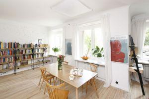 Kuchnia, jadalnia. Projekt: arch. wnętrz Ewelina Pik, Modullar Fot. Bartosz Jarosz
