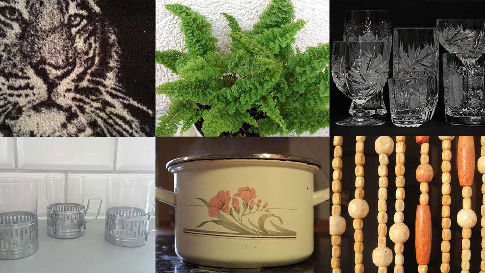 Boazeria, kryształy i paprocie – 20 rzeczy, które królowały w polskich wnętrzach. Fot. Morizon
