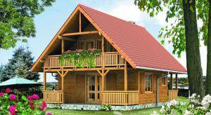 Dom z drewna Jaśmin 2 dr-S został zaprojektowany w technologii szkieletu drewnianego. Jego niewielka powierzchnia użytkowa sprawi, że będzie tani w budowie i późniejszym utrzymaniu.