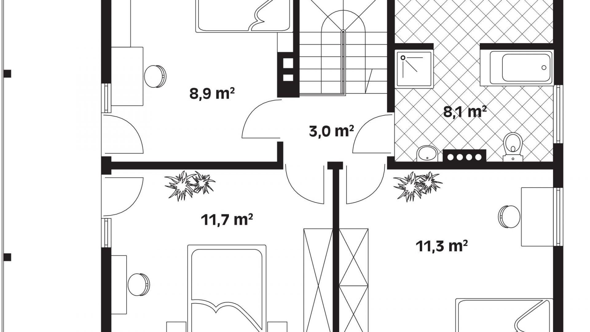 Dom Z Drewna Zobacz Ciekawy Projekt I Wnętrza