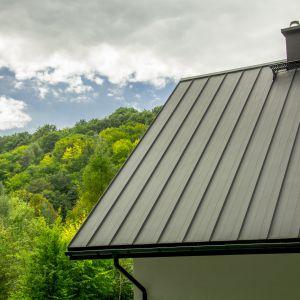 Modny dach: trendy dekarskie na 2018 rok. Panel dachowy Retro. Fot. Blachotrapez