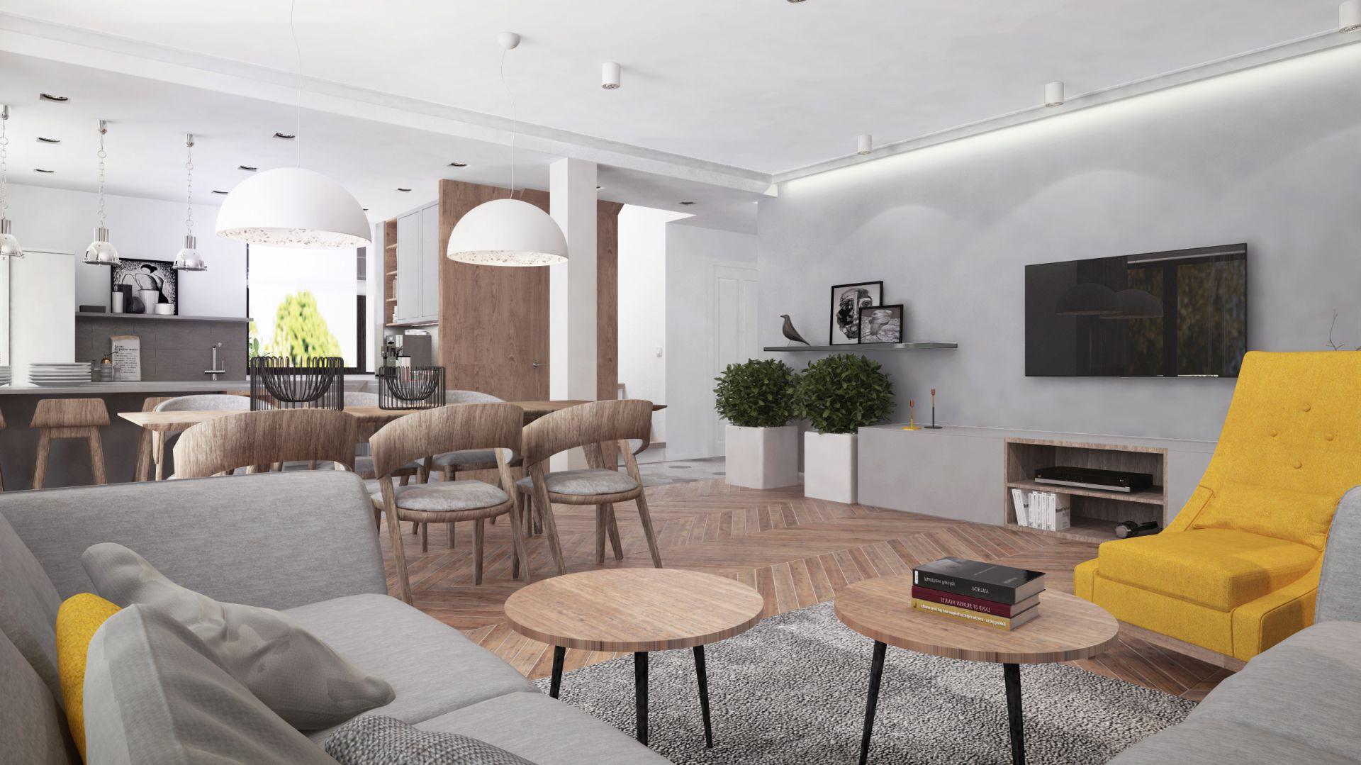 Projekt wnętrza: Dominika Trzcińska, Superpozycja Architekci