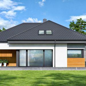 Nowoczesny dom parterowy o powierzchni użytkowej 93,80 mkw + garaż 20,7 mkw został zaprojektowany z myślą o niewielkiej rodzinie. Projekt i zdjęcia: Zespół Projektowy HomeKONCEPT