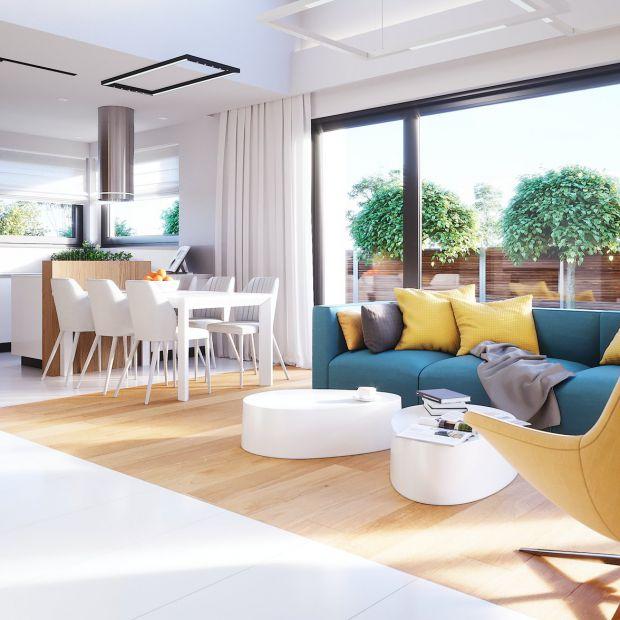 Dom parterowy: piękny projekt w nowoczesnym stylu