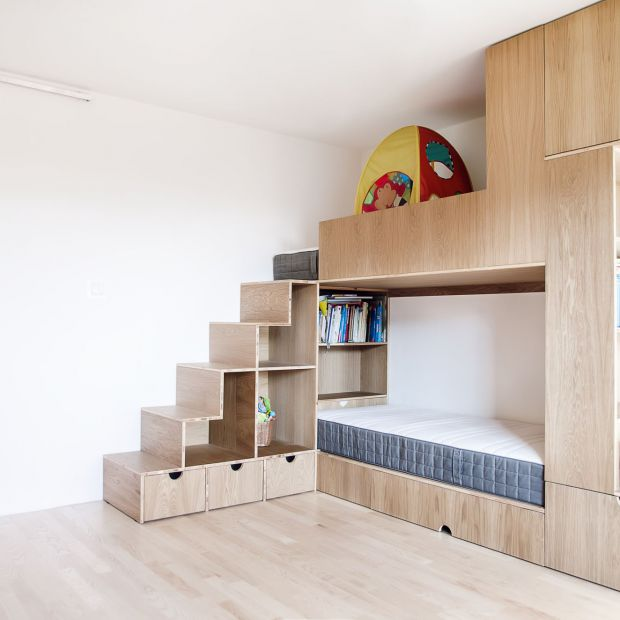 Remont mieszkania: dom dostosowany do potrzeb rodziny z 3 dzieci