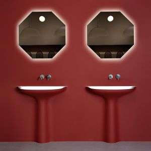 Designerska umywalka autorstwa Antonio Lupi. Fot. Studio Forma 96