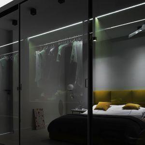 Minimalistyczne wnętrze: drzwi S1200 Raumplus. Fot.Piotr Lipecki