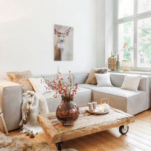 Salon w stylu skandynawskim. Fot.Westwing