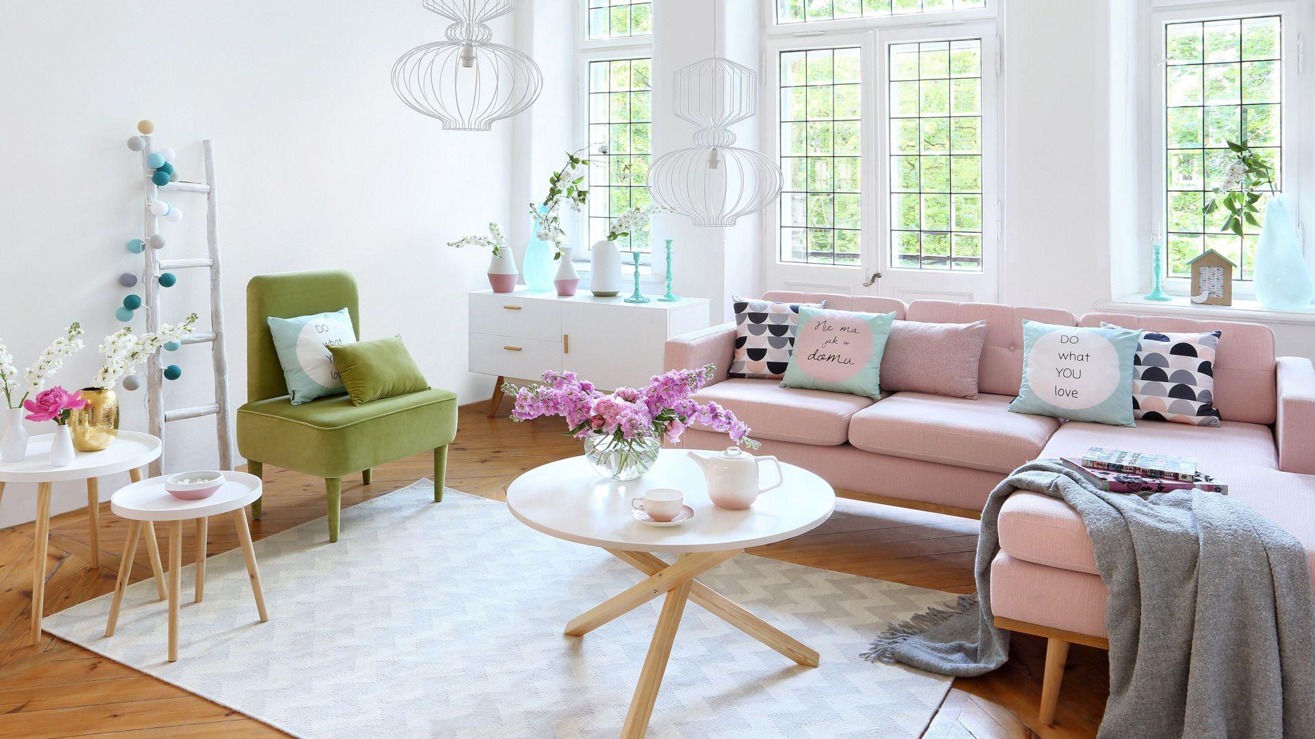 Salon w stylu skandynawskim. Fot. Westwing